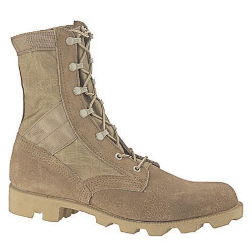 Men's Altama Footwear Desert Boot 5853 Tan Suede Leather/Cordura Nylon