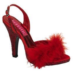 Women's Bordello Siren 04 Red Satin