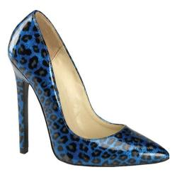 Women's Devious Sexy-20 Blue Pearlized Patent