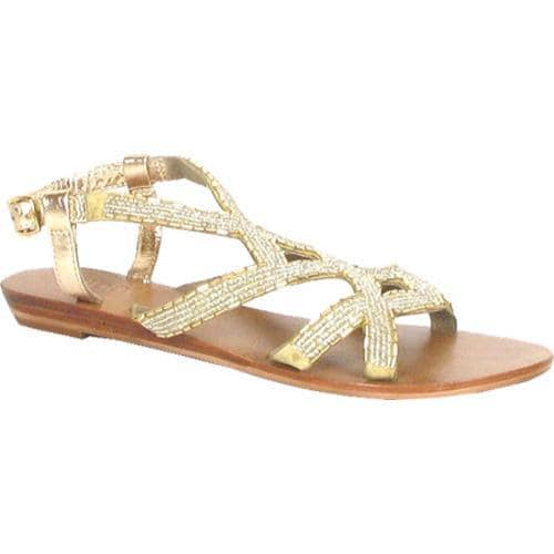 Women's Diba Sallie Sea Gold Leather