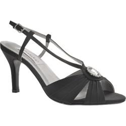 Women's Dyeables Janelle Black Satin
