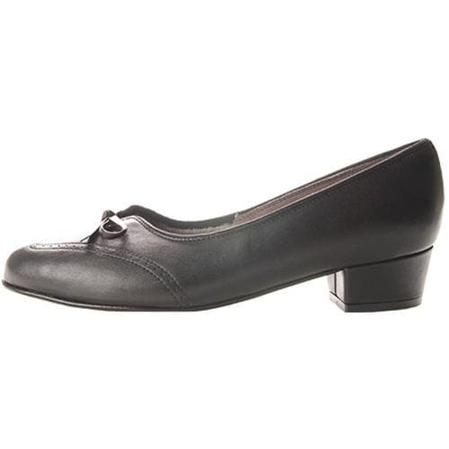 Women's FootThrills Plaza Black Leather