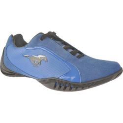 Men's Ford Mustang FM005 Blue Leather/Suede