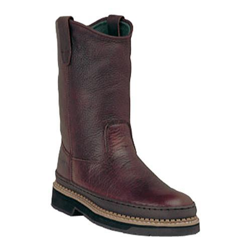 Men's Georgia Boot G43 11in Safety Toe Georgia Giant Wellington Soggy Brown Full Grain Leather