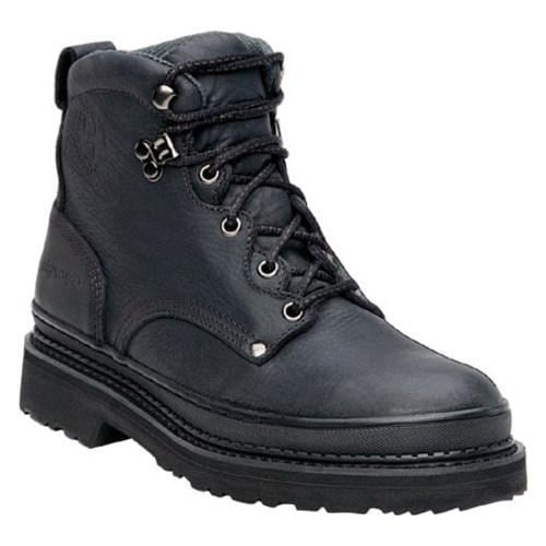 Men's Georgia Boot G63 6in Safety Toe Georgia Giant Soggy Black Full Grain Leather