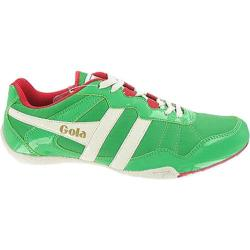 Men's Gola Cue Green/Ecru/Red