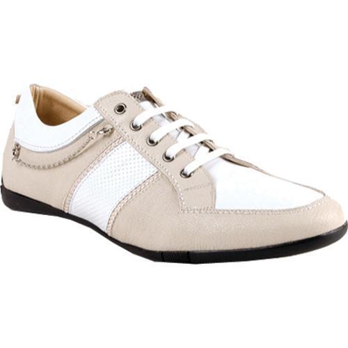 Men's GooDoo Classic 008 White/Beige Leather