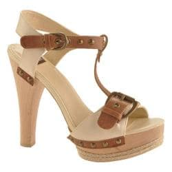 Women's N.Y.L.A. Shoes Daron Tan Leather