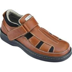 Men's Orthofeet 572 Brown Leather