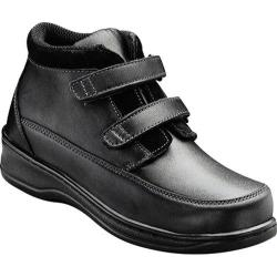 Women's Orthofeet 881 Black Leather