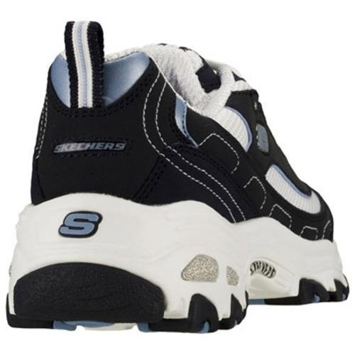 Skechers Women's D Lites Extreme Navy/White