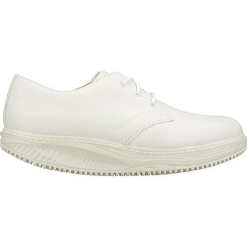 Women's Skechers Work Shape Ups Point Five Slip Resistant White