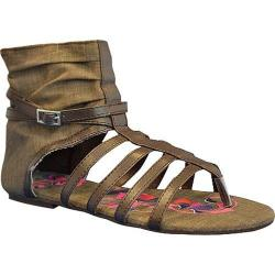 Women's Sun Luks by Muk Luks Gladiator Sandal Chocolate