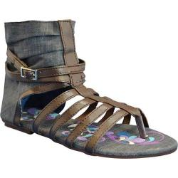 Women's Sun Luks by Muk Luks Gladiator Sandal Denim