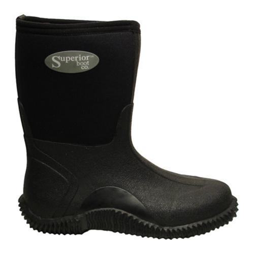 s superior boot co 11in mud boot black neoprene