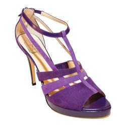 Women's Takera Shoes Asjha Violet/Lavender Suede