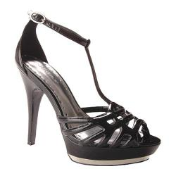 BCBGirls Women's Chelsea Black Water Patent