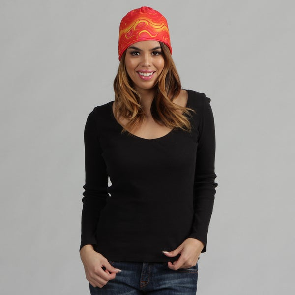 O3 Red Oil 'Rag Tops' Convertible Headwear