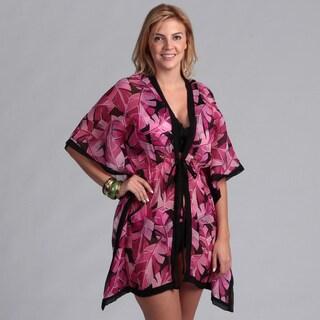 Swim by Chuck Women's 'Handy' Pink Bikini with Matching Cover-up