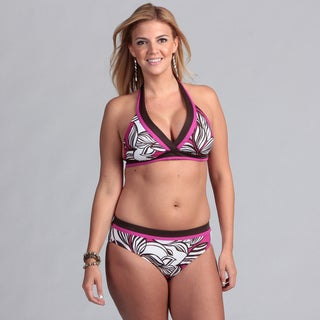 South Point Missy Hibiscus Halter Bikini