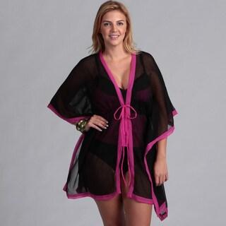 Swim by Chuck Handy Women's 2-piece Tankini Kimono