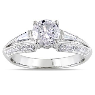 Miadora 14k White Gold 1 1/2ct TDW Diamond Ring (G-H, I1-I2)