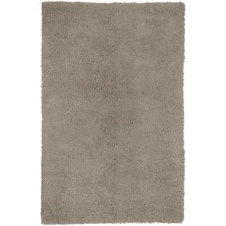 Hand-woven Aspen Beige Wool Rug (5' x 8')