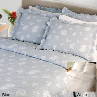 Seaspray Coverlet and Sham Separates