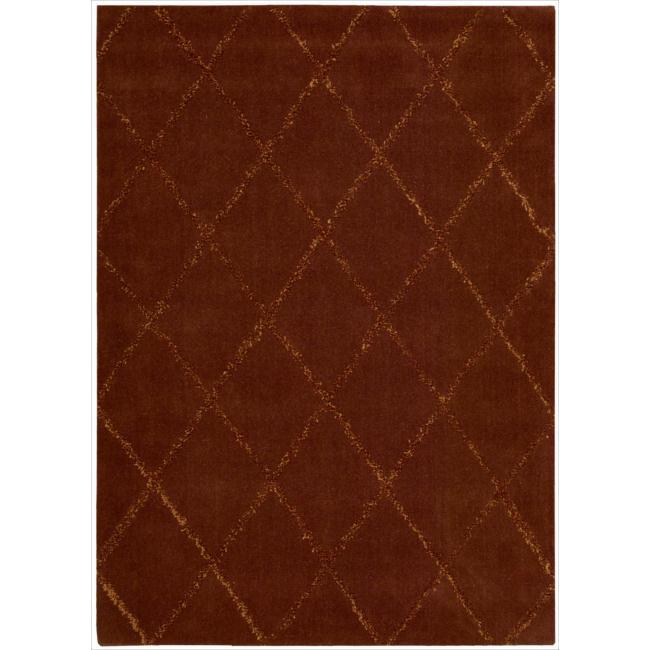 Joseph Abboud by Nourison Monterey Rust Rug (7'9 x 9'9)