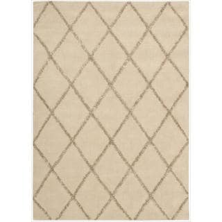 Nourison Joseph Abboud Hand-tufted Monterey Beige/Sand Rug (3'6 x 5'6)