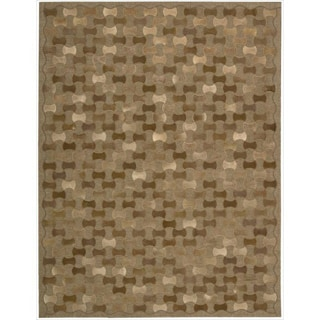 Joseph Abboud by Nourison Chicago Brown Rug (5'3 x 7'5)