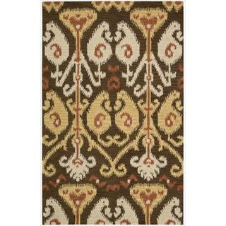 Nourison Hand-tufted Siam Chocolate Rug (8' x 10'6)