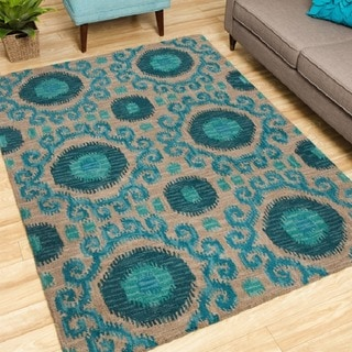 Nourison Hand-tufted Siam Rug (8' x 10'6)