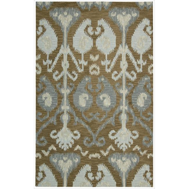 Nourison Hand-tufted Siam Mocca Rug (3'6 x 5'6)