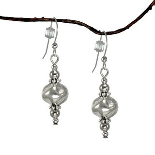 Jewelry by Dawn Silver Nugget Dangle Earrings