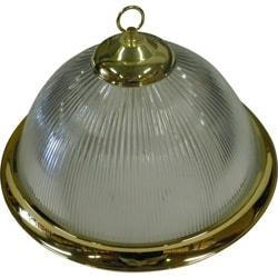 1-light Polished Brass Pendant