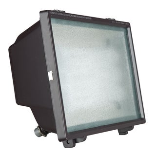 1-light Bronze Powder Flood Light