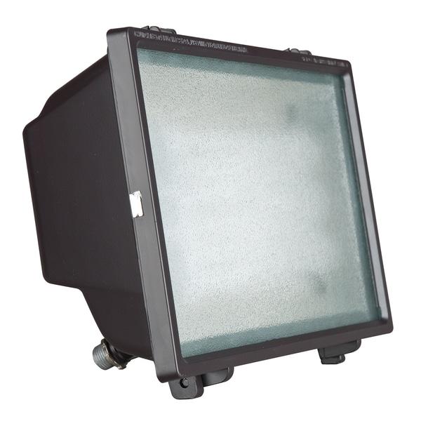 1-light Bronze Powder Flood Light