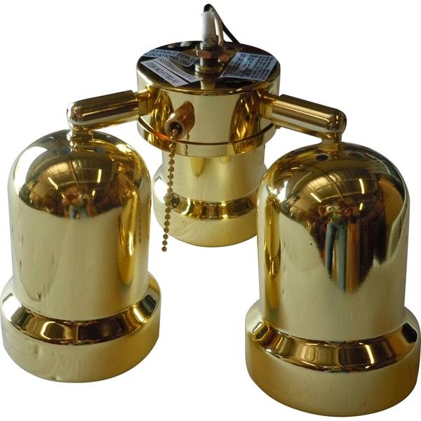 polished brass light kits for ceiling fans 52. Black Bedroom Furniture Sets. Home Design Ideas