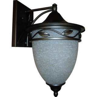 1-light Natural Iron Medium Wall Lantern