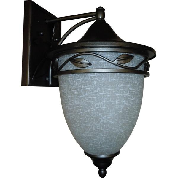 1-light Natural Iron Medium Wall Lantern