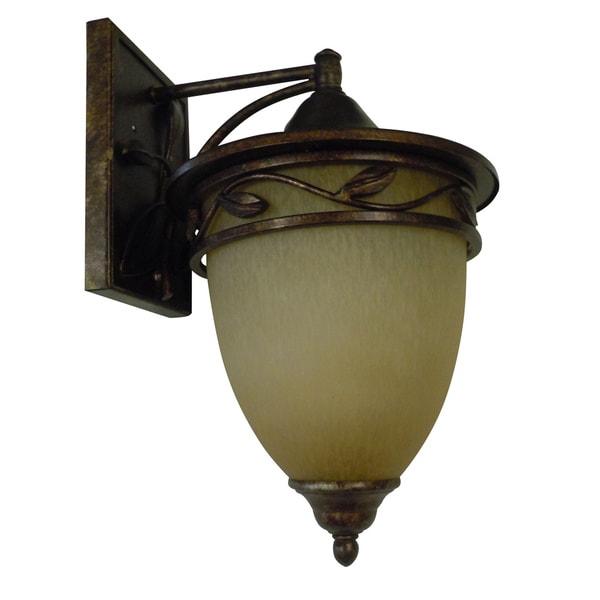1-light Venetian Bronze Medium Wall Lantern