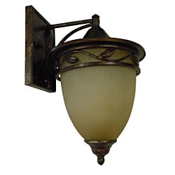 1-light Venetian Bronze Medium Wall Lantern