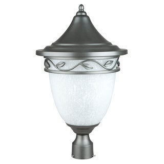 1-light Natural Iron Large Post Lantern