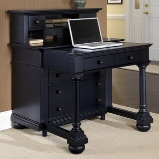 St. Croix Expanding Desk with Hutch