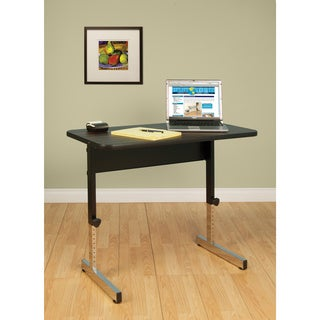 Studio Designs Adapta Black/Walnut Calico Adjustable Rectangular Table