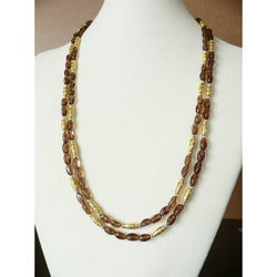 'Rootbeer Float' Rope Necklace