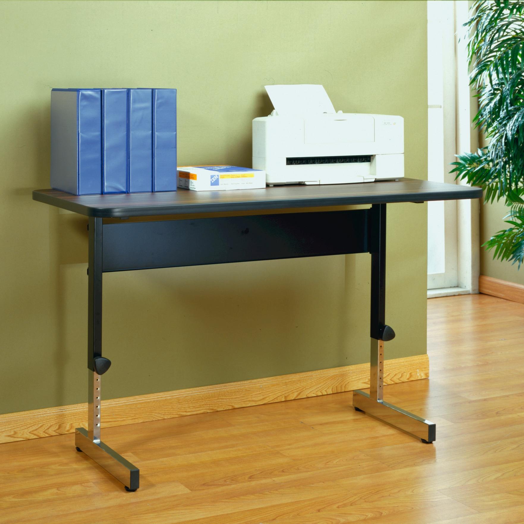 calico designs black walnut adapta 48 inch desk overstock shopping