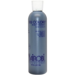 Nairobi Tru-Colors Semi-Permanent #1 Pure Black 8-ounce Hair Color