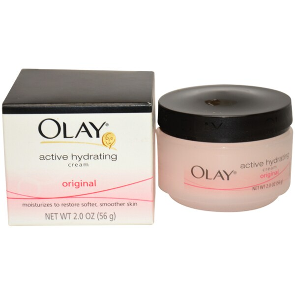 Olay Active Hydrating Cream 2-ounce Moisturizer